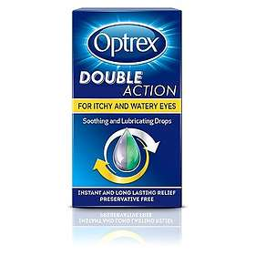 Optrex Double Action For Itchy & Watery Eyes Drops 10ml