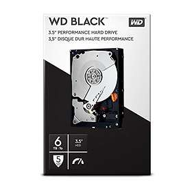 WD Black WDBSLA0060HNC 256Mo 6To