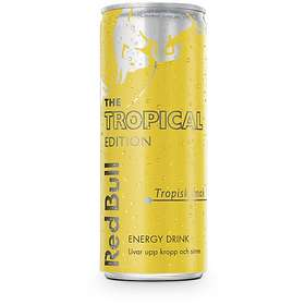 Red Bull Tropical Edition Burk 0,25l