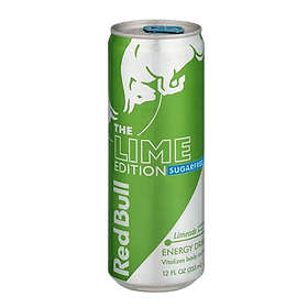 Red Bull Lime Edition Burk 0,25l