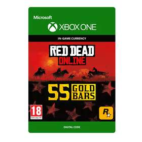 Red Dead Online: 55 Gold Bars (Xbox One)