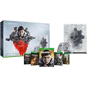 Microsoft Xbox One X 1TB (ml. Gears 5) - Limited Edition