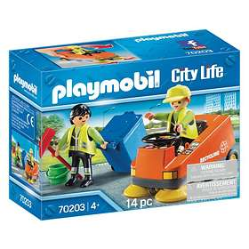 Playmobil City Life 70203 Street Sweeper