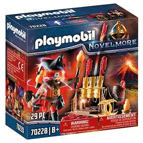 Playmobil Novelmore 70228 Fire Master with Cannon