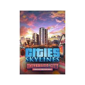 Cities: Skylines: Content Creator Pack: University City (Expansion) (PC)