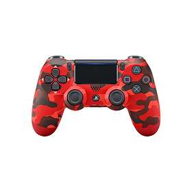 Sony DualShock 4 V2 - Red Camouflage (PS4) (Original)