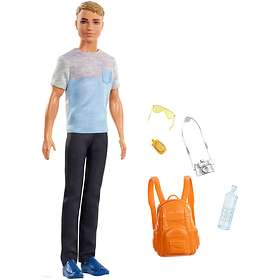 Barbie Travel Ken Doll FWV15