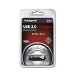 Integral USB 3.0 Crypto Drive FIPS 140-2 32GB