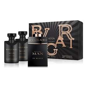 BVLGARI Man In Black edp 60ml + AS Balm 40ml + SG 40ml For Men