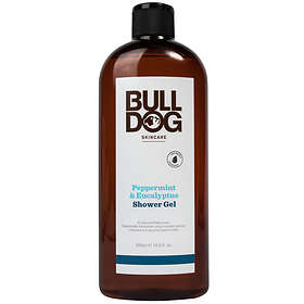 Bulldog Peppermint Eucalyptus Shower Gel 500ml