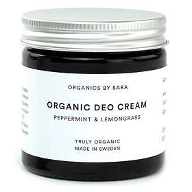 Organics by Sara Peppermint & Lemongrass Organic Deo Cream 60ml