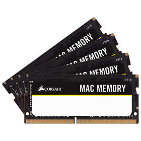 Corsair Mac Memory SO-DIMM DDR4 2666MHz Apple 4x16GB (CMSA64GX4M4A2666C18)