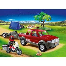Playmobil Family Fun 70116 Camp Site with Pickup