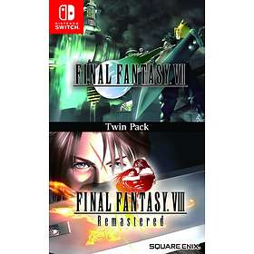 Final Fantasy VII & VIII Remastered - Twin Pack (Switch)