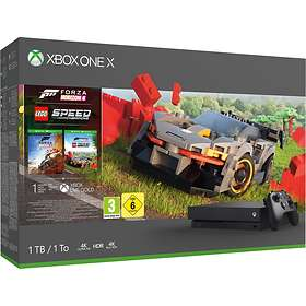 Microsoft Xbox One X 1TB (inkl. Forza Horizon 4 + Lego Speed Champion)
