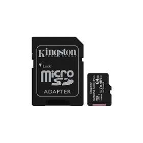 Kingston Canvas Select Plus microSDXC Class 10 UHS-I U1 V10 A1 100MB/s 64GB