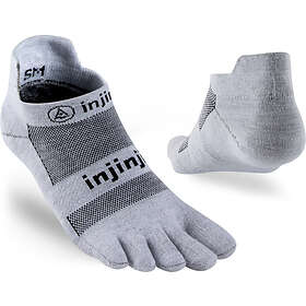 Injinji Run Xtralife Lightweight No Show Sock