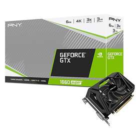 PNY Geforce GTX 1660 Super Single Fan HDMI DP 6GB