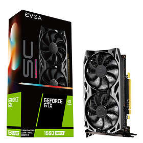 EVGA GeForce GTX 1660 Super SC Ultra HDMI DP 6Go