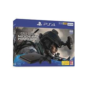 Sony PlayStation 4 Slim 500GB (incl.Call of Duty: Modern Warfare)