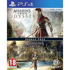 Assassins Creed Odyssey + Origins - Double Pack (PS4)