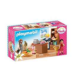 Playmobil Heidi 70257 Keller's Village Shop