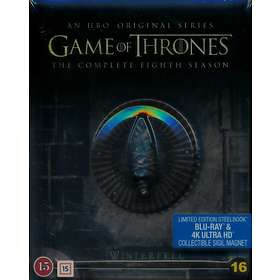 Game of Thrones - Kausi 8 - SteelBook (UHD+BD)