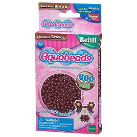 Aquabeads Brown Solid Bead Pack