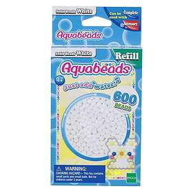 Aquabeads White Solid Bead Pack
