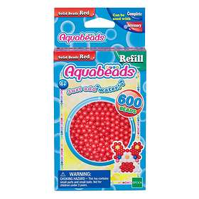 Aquabeads Red Solid Bead Pack