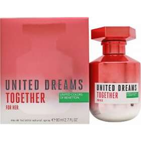 United Colors of Benetton United Dreams Together For Her edt 80ml