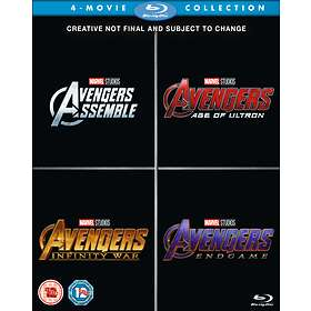 The Avengers Assembled - 4-Movie Collection