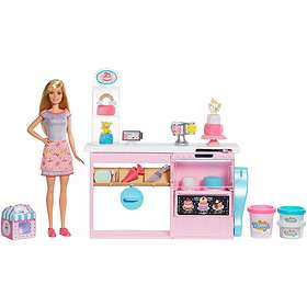 Barbie Cake Decorating Playset GFP59