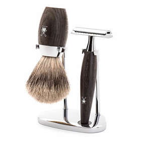 Mühle Kosmo Big Oak Safety Razor - Fine Badger (3-delar)