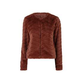 Vero Moda Brooklyn Faux Fur Short Jacket (Dam)