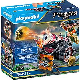 Playmobil Pirates 70415 Pirate with Cannon