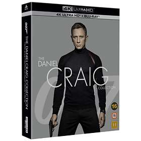 007: The Daniel Craig Collection (UHD+BD)
