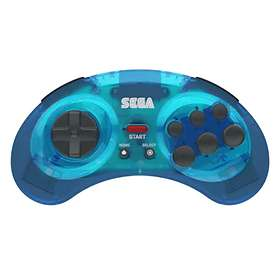 Retro-Bit Sega Mega Drive 8-Button Arcade Pad BT (PC/Mac/PS3/Android/Switch)