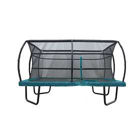 JumpMaster Trampoline With Safety Net 450x300cm