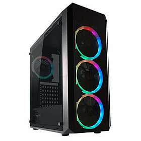 LC-Power Gaming 703B Quad-Luxx (Black/Transparent)