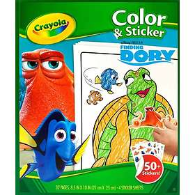 Crayola Finding Dory Color & Sticker
