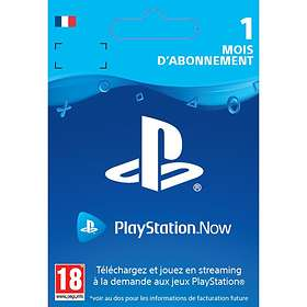 Sony PlayStation Now 1 Month Subscription Card