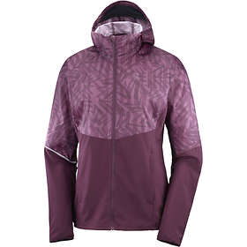 Salomon Agile Full Zip Hoodie Jacket (Dam)