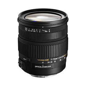 Sigma 17-70/2.8-4.0 DC HSM Macro for Sony A
