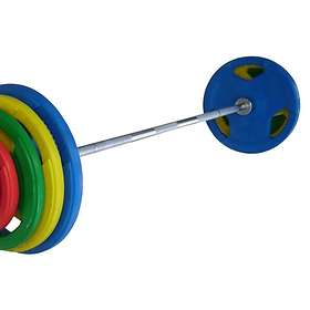 FitNord Tri Grip Olympic Levytanko Set 50mm 100kg
