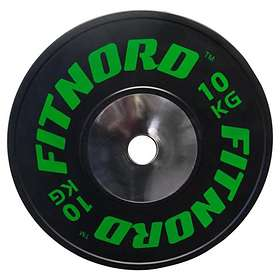 FitNord Competition Bumper Plate 50mm 10kg