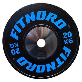 FitNord Competition Bumper Plate 50mm 20kg