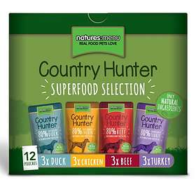 Natures Menu Dog Pouch Country Hunter 12x0,085kg