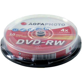 AgfaPhoto DVD+R 4,7GB 16x 10-pack Spindel
