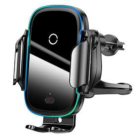 Baseus Light Electric Wireless Charging Car Mount